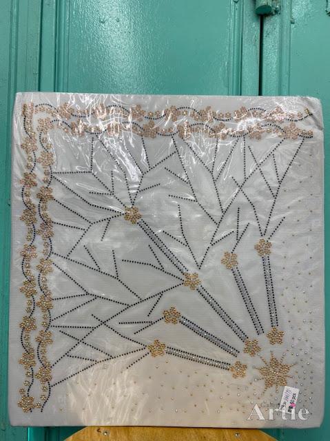 Hotfix stickers dmc rhinestone aplikasi tudung bawal fabrik pakaian bunga 2 baris gold dark gray