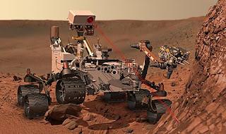 rover Curiosity Mars