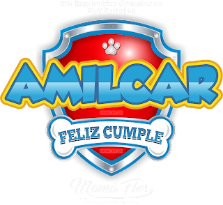 Logo de Paw Patrol: AMILCAR