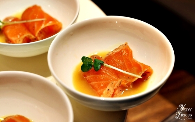 Salmon Karashi at Nobu Hotel Brunch Buffet City of Dreams Manila