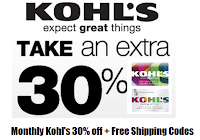 1e14d2ed Here are all the Kohl's Coupon codes for the month of July. Get 30% off  with code OUTDOORS30., Free shipping code ...