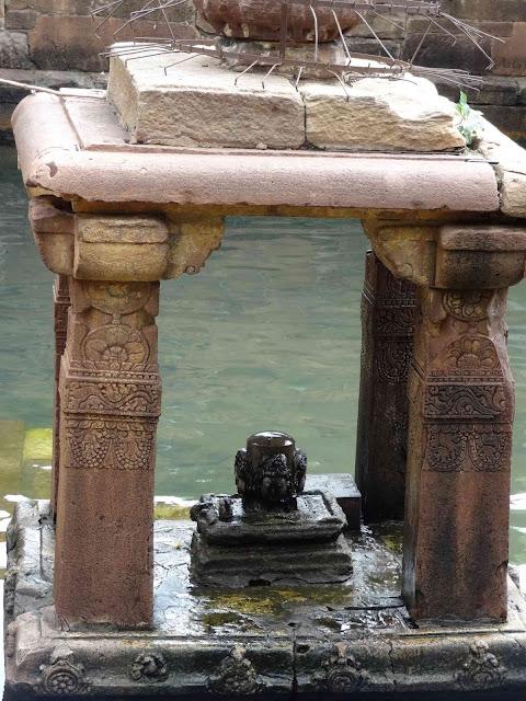 The four faced Shiva Linga of Mahakuta temple complex