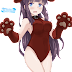 Tags: Render, Animal Ears, Black hair, Inumimi, Large Breasts, Leotard, Long hair, New Game!, Ponytail, Purple hair, Sideboob, Takimoto Hifumi, Tasora