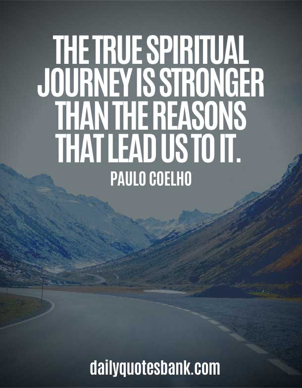 Spiritual Quotes About Life Journey