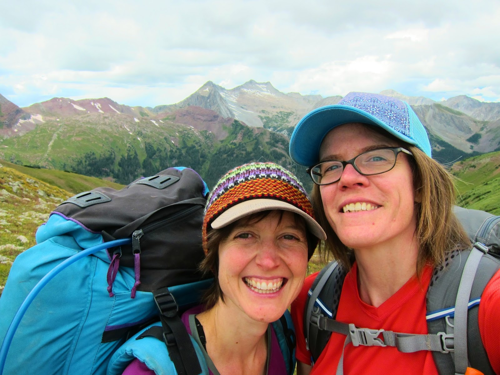 Sedimentary Lifestyle: Trip report: Four-Pass Loop