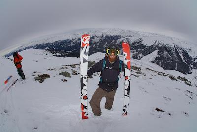 Aufstieg mit dem K2 Hellbent