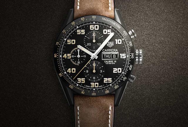 TAG Heuer's new Carrera Caliber 16 Chronograph Black Titanium TAG-Heuer-Carrera-Calibre-16-001