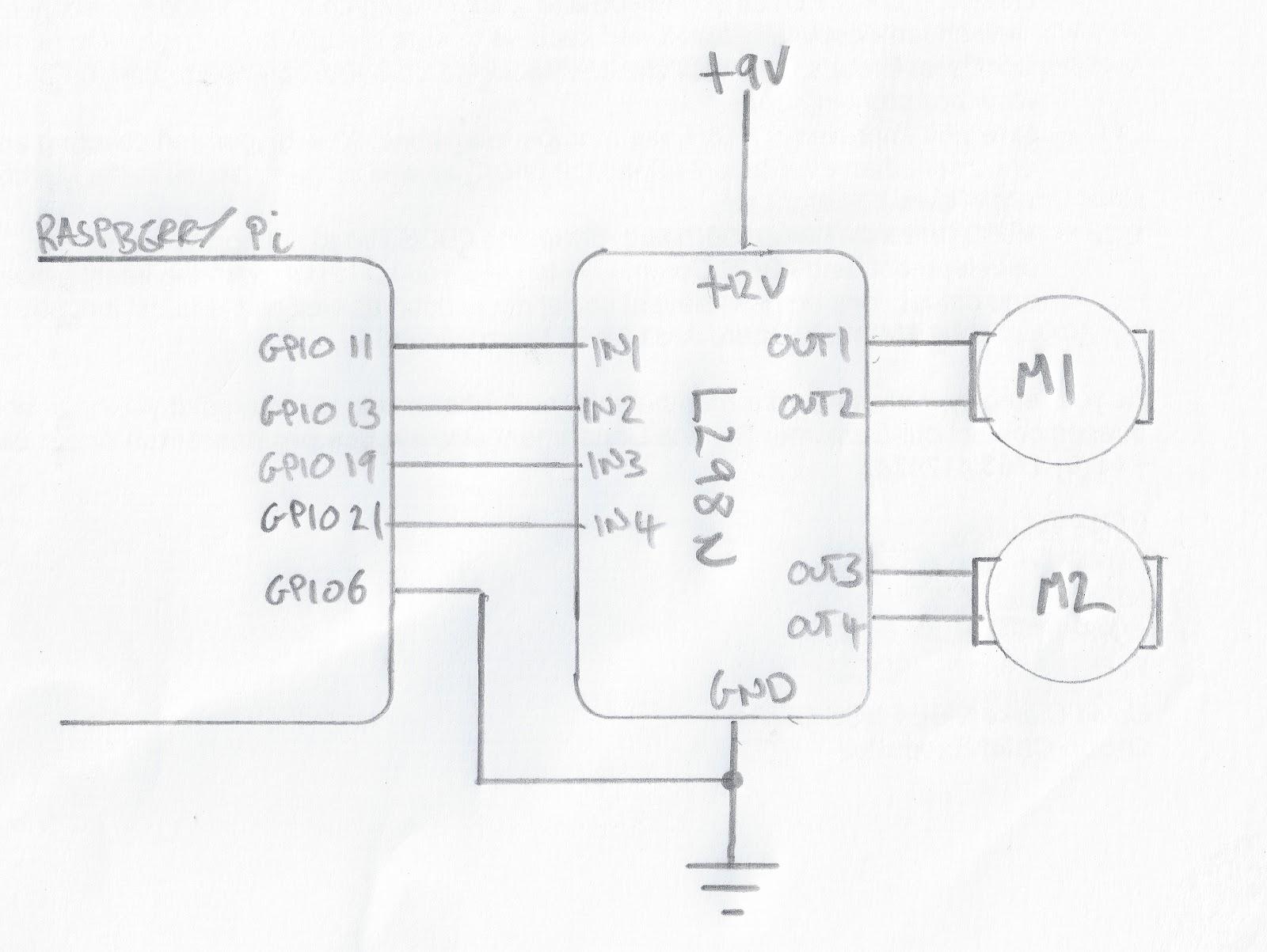 raspberry pi wiring diagram n