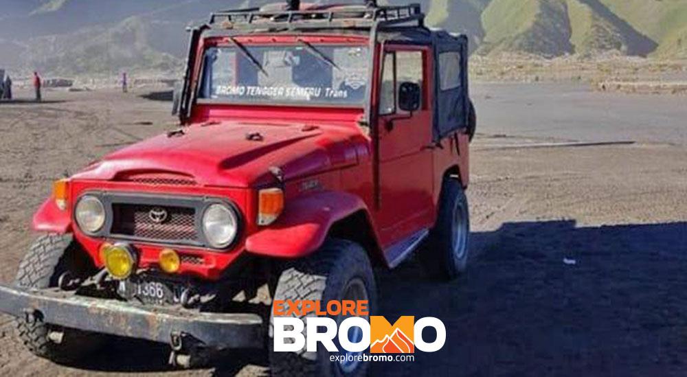 jeep kanvas ke gunung semeru dari tumpang atau malang