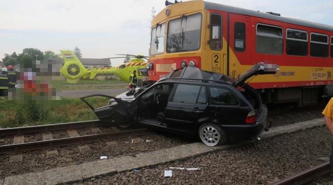 Két súlyos baleset is történt szinte egy időben