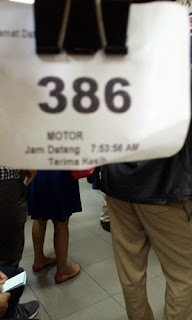 tiket antrian
