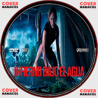 GALLETA LABEL INFIERNO BAJO EL AGUA-CRAWL 2019 [COVER DVD]