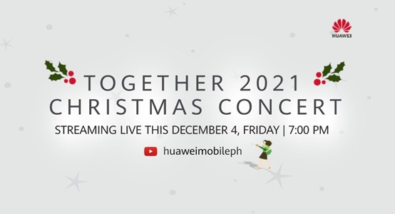 Huawei to hold Together 2021 Online Christmas Concert