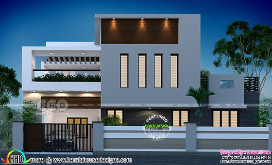 4 bedroom 2850 sq.ft modern home design