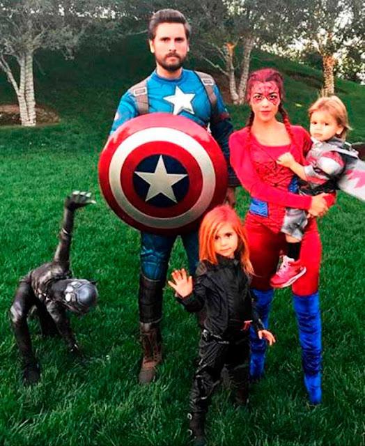 Kourtney kardashian marido e filhos