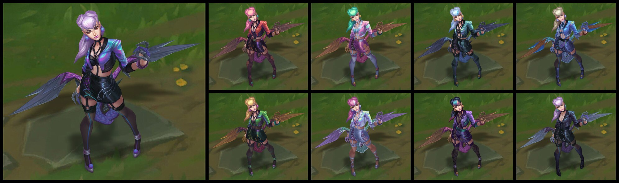 K/DA ALL OUT Evelynn Chromas