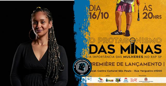 1º Documentário sobre o protagonismo das mulheres no Rap de São Paulo será exibido no CCSP