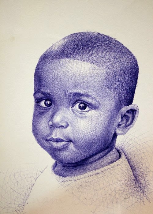 21-Life-Portrayed-by-a-Ballpoint-Pen-Enam Bosokah-www-designstack-co