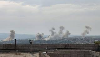 Rezim Syiah Nushairiyah Hujani Selatan Idlib Dengan Artileri