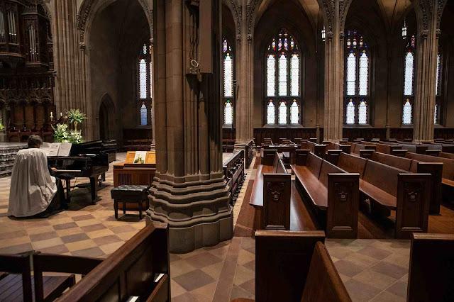 A Igreja anglicana da Trindade ficou ainda mais vacia de fieles en Manhattan
