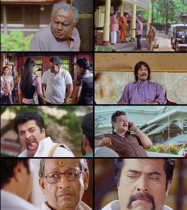 Pokkiri Raja 2010 UNCUT Multi Audio Hindi 720p BluRay