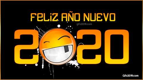 feliz año nuevo 2020 emoticon