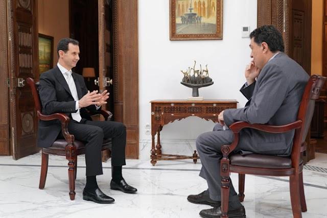 President al-Assad interview to Greek Kathimerini newspaper