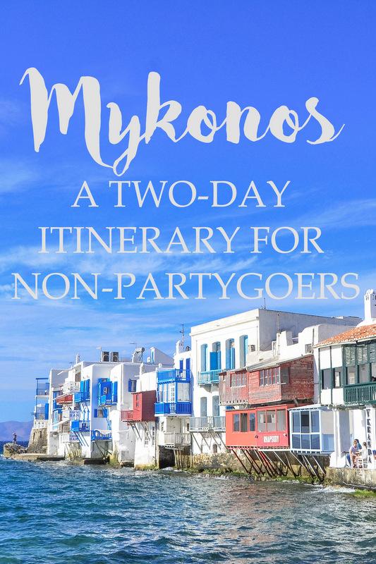 mykonos itinerary pinterest