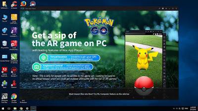 Cara Memainkan Pokemon Go di PC Menggunakan NOX