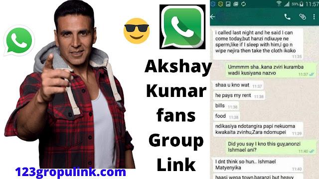 Join 60+ Akshay Kumar Whatsapp Group Link 2020