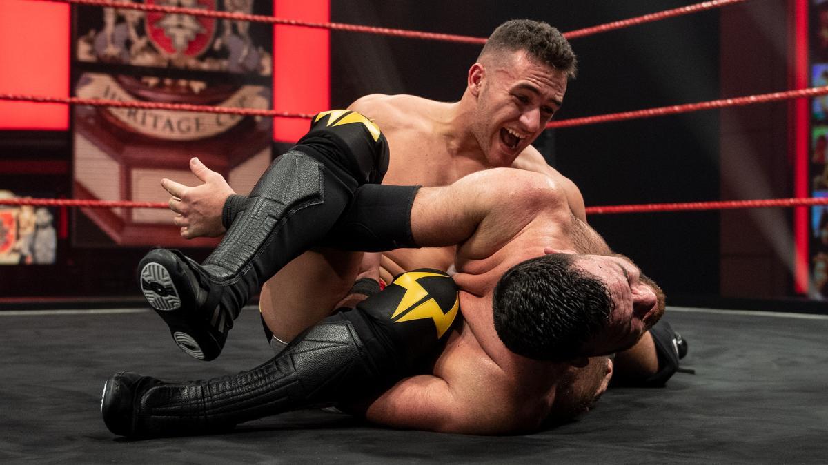 A-Kid and Sha Samuels on WWE NXT UK