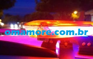 Ladrões largam motocicleta após alarme disparar