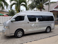 Hua Hin airport transfer to Bangkok Thailand with ramp access.