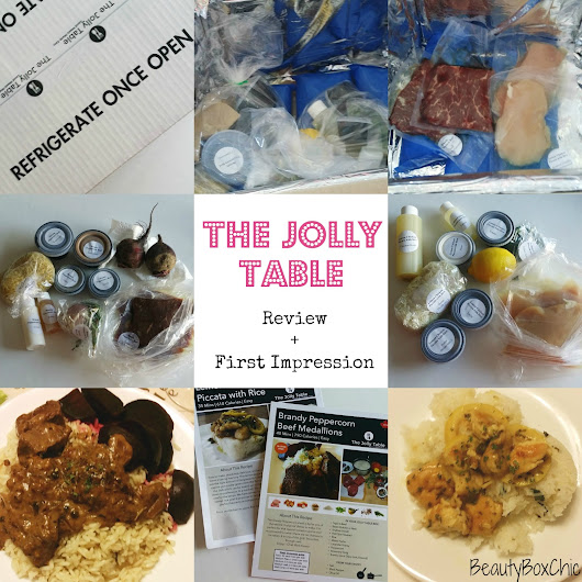The Jolly Table First impression + Thoughts