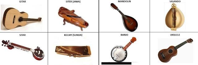 Alat Musik Petik Tradisional Khas Indonesia