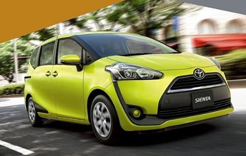 Harga Toyota Sienta Facelift rilis terbaru
