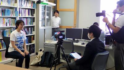 学生への個別インタビュー