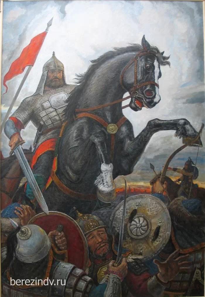 Евпатий Коловрат. Нашествие хана Батыя на Русь Рязанское княжество