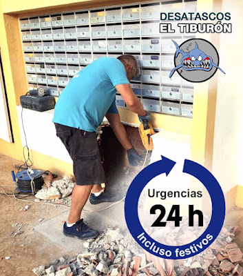 Desatascos 24 horas Alicante