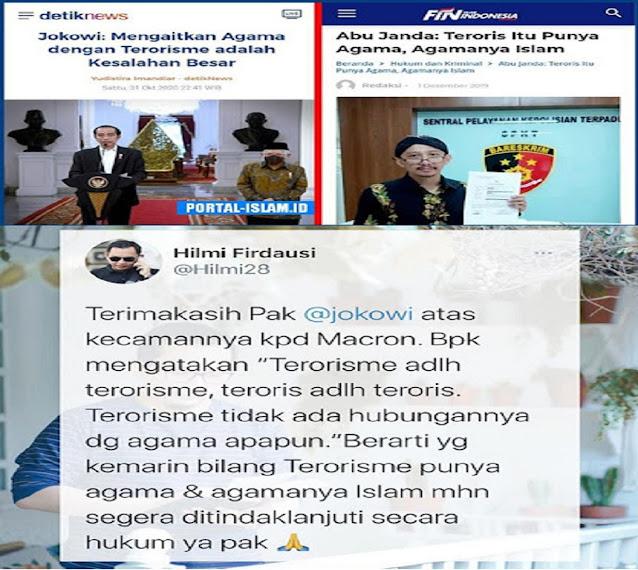 Berdasarkan Pernyataan Presiden Jokowi, Netizen Mendesak Abu Janda Ditangkap Karena Mengaitkan Terorisme dengan Agama Islam