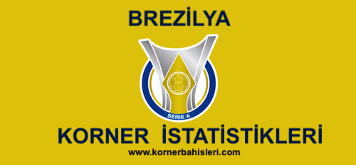 Brezilya Serie A Korner İstatistikleri