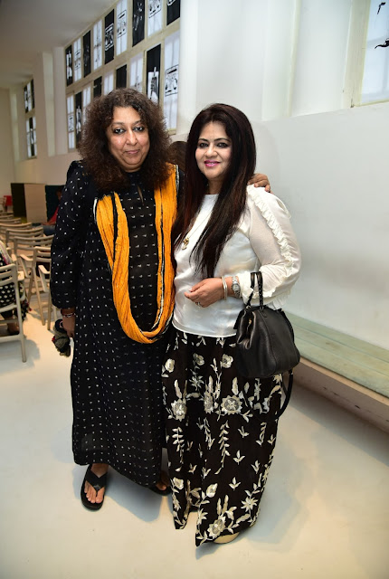 Designer Madhu Jain and Nelofar Currimbhoy