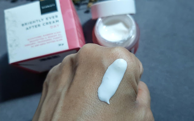 Scarlett-Brightly-Ever-After-Cream-Day-Review