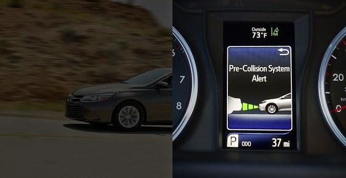 cam 2015 toyota tan cang 8 - 10 hệ thống an toàn vượt trội trên Toyota Camry 2021