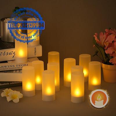 Electronic candle charge