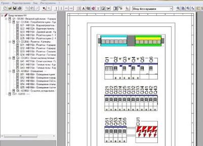 "Software ""1-2-3 Scheme"" لتصميم لوحات المفاتيح الكهربائية"