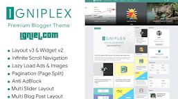 2021 'Igniplex v2.6' Premium Blogger Template Download - Chinaitechghana