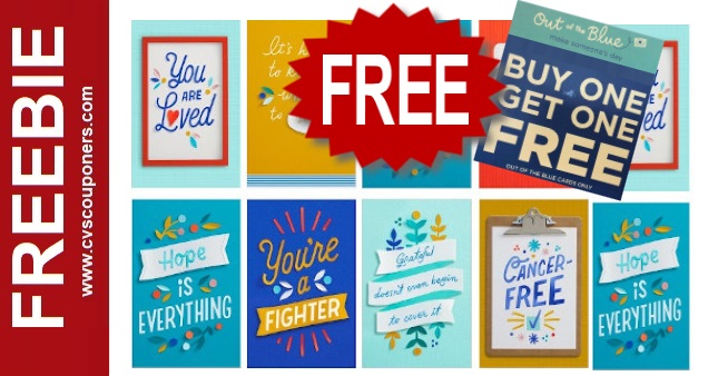 FREE Hallmark Greeting Cards at CVS Now thru 929