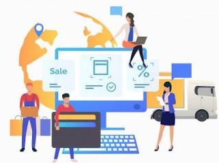 contoh bisnis online 2020 -  online shop