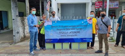 FIFGROUP Bagikan 115.197 Paket Sembako Selama Pandemi Senilai 23,853 Miliar